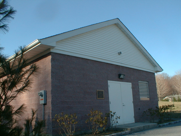 Oyster Bay Water District Pumping Station - Exterior